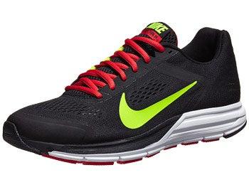 Nike Zoom Structure+ 17 Men's Shoes Black/Crimson/White