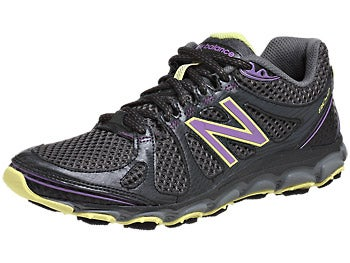 New Balance WT810 v2 Women's Shoes Purple/Yellow