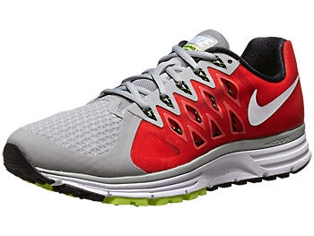 Nike Zoom Vomero 9 Men's Shoes Grey/Crimson/Red