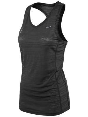 Nike Women's Breeze Tank Black & White