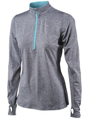 Nike Women's Element Half-Zip Armory Bl & Gamma Bl