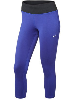 Nike Women's DF Epic Run Crop Deep Night