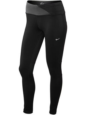 Nike Women's Epic Run Tight Black Lengths Available