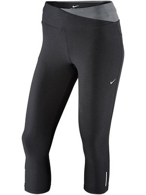 Nike Women's Twisty Crop Capri Black