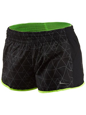 Nike Women's Printed Racer Short Colors