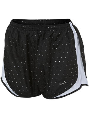 Nike Women's Printed Tempo Short Jade & Black