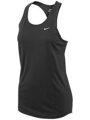 Nike Women's Racer Tank Black & White