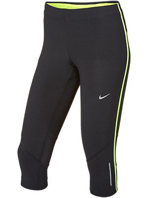 Nike Women's Tech Capri Black/Volt
