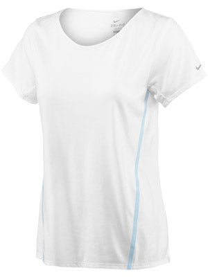 Nike Women's Tailwind Loose S/S Top White