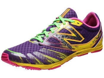 New Balance XCS700v2 Women's Spikes Purple/Yellow