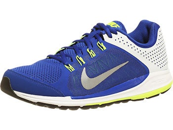 Nike Zoom Elite+ 6 Men's Shoes Blue/Plat/Volt/Silver