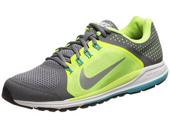 Nike Zoom Elite+ 6 Men's Shoes Grey/Volt/Blue/Silver