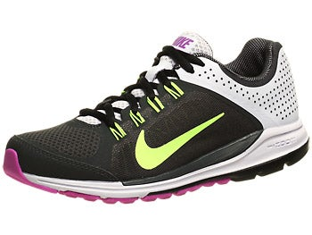 Nike Zoom Elite+ 6 Women's Shoes Gry/Volt/Pk/Bk