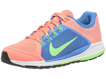 Nike Zoom Elite+ 6 Women's Shoes Pink/Blue/White/Lime