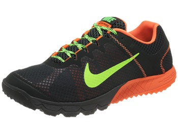Nike Zoom Wildhorse Men's Shoes Black/Orange/Lime