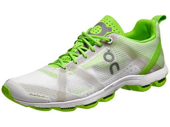 ON Cloudracer Men's Shoes Silver/Lime