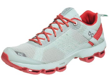 ON Cloudsurfer Women's Shoes Aqua/Coral Red