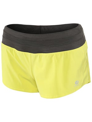 Oiselle Women's Mac Roga Short Green