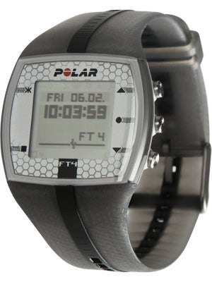 Polar FT4 Heart Rate Monitor Silver/Black