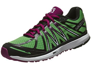 Salomon X-Tour Women's Shoes Wasabi/White/Purple