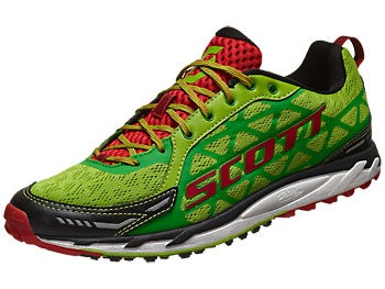 Scott Trail Rocket Men's Shoes Green/Red