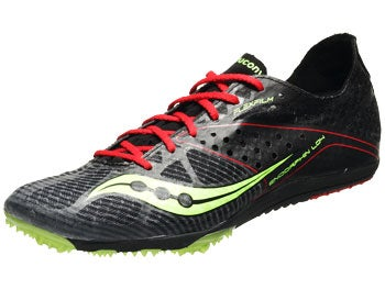 Saucony Endorphin LD4 Men's Spikes Black/Citron/Red