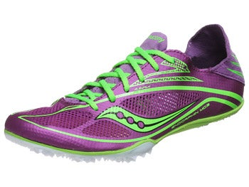 Saucony Endorphin MD3 Women's Spikes Purp/Slime