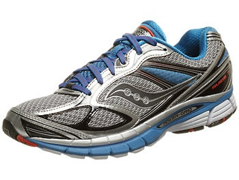 Saucony Guide 7 Men's Shoes Silver/Blue/Black