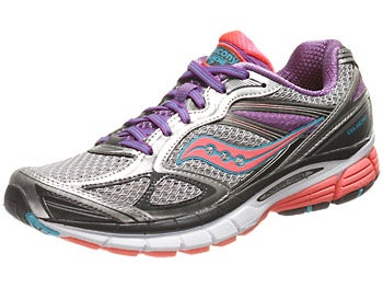 Saucony Guide 7 Women's Shoes Silver/ViziCoral/Purple
