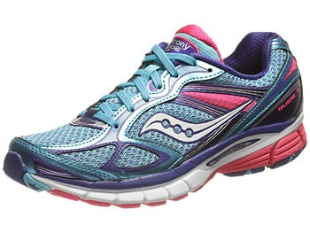 Saucony Guide 7 Women's Shoes Blue/Vizipink