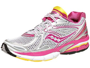 Saucony Hurricane 15 Women's Shoes Purple/Yellow
