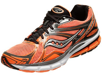 Saucony Hurricane 16 Men's Shoe Orange/Black/Silver