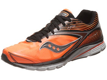 Saucony Kinvara 4 GTX Men's Shoes Black/Vizi Orange