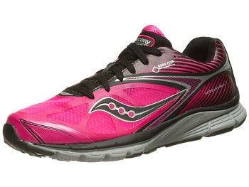 Saucony Kinvara 4 GTX Women's Shoes Black/Vizi Pink