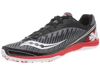 Saucony Kilkenny XC5 Men's Spikes Black/Red