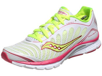 Saucony Kinvara 3 Women's Shoes Citron/Pink