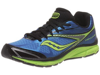 Saucony Kids Kinvara 4 Boy's Shoes Blue/Citron