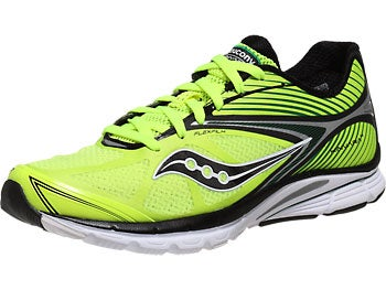 Saucony Kinvara 4 Men's Shoes Citron/Black/Green