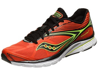 Saucony Kinvara 4 Men's Shoes Orange/Black/Citron