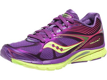 Saucony Kinvara 4 Women's Shoes Purple/Pink/Citron