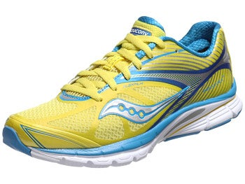 Saucony Kinvara 4 Women's Shoes Yellow/Blue