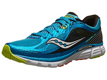 Saucony Kinvara 5 Men's Shoes Blue/Black/Citron