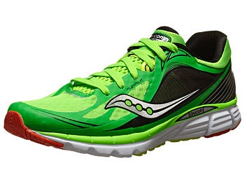 Saucony Kinvara 5 Men's Shoes Slime/Orange/Citron