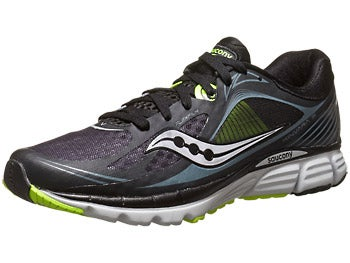 Saucony Kinvara 5 Men's Shoes Black/Grey/Citron