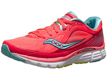 Saucony Kinvara 5 Women's Shoes ViziCoral/Blue