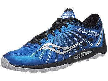 Saucony Kinvara TR2 Trail Men's Shoes Blue/Black