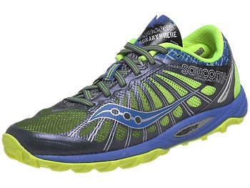 Saucony Kinvara TR2 Trail Women's Shoes Grey/Blue