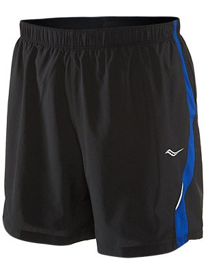 Saucony Men's Throttle Short Black/Cobalt