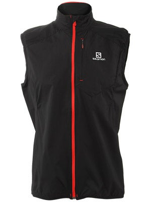 Salomon Men's Fast Wing Vest Black & Union Blue
