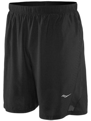 Saucony Men's Interval 2-1 Short Black